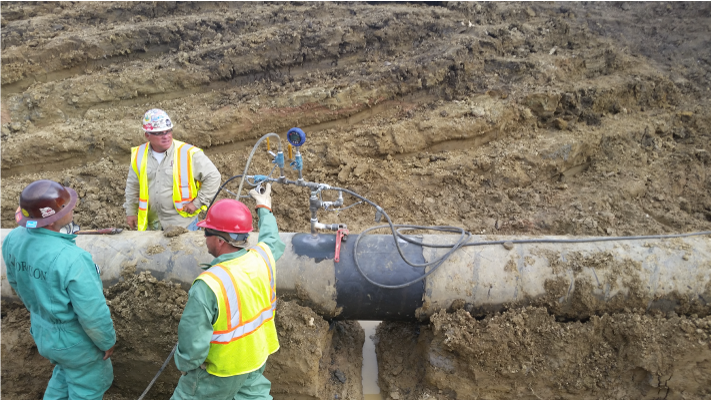 Aux Sable Phases Pipeline Replacement