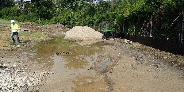 Grading, Erosion Control at Sluice Gate Path – I-294 between Dempster street and Ballard Road