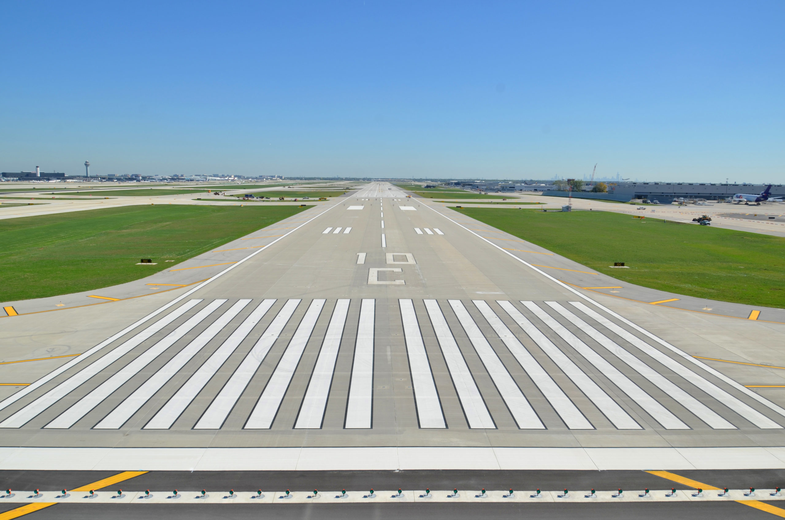 Runway 10C-28C – Status Lights & Sustainable Aviation Fuel Facility Improvements