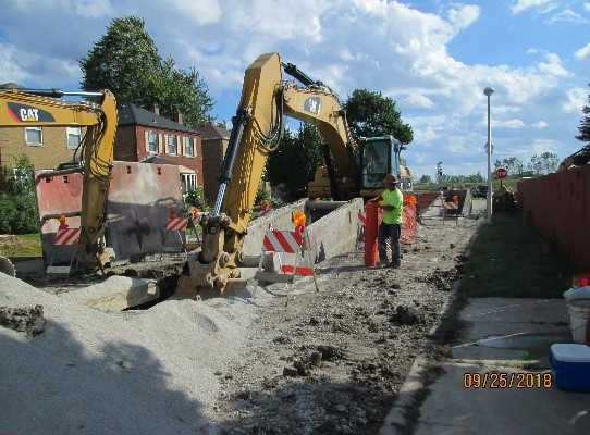Sewer Replacement Project TOR 145